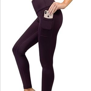 NWT 90 Degree By Reflex Fleece Lined Legging (S)